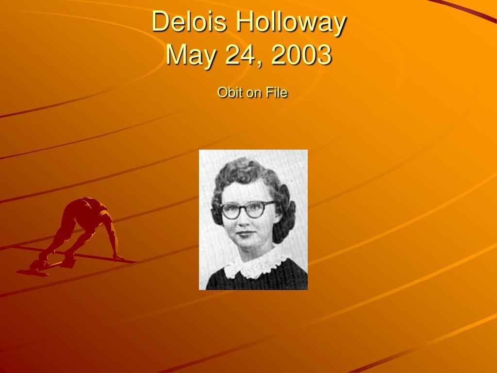 Delois Holloway