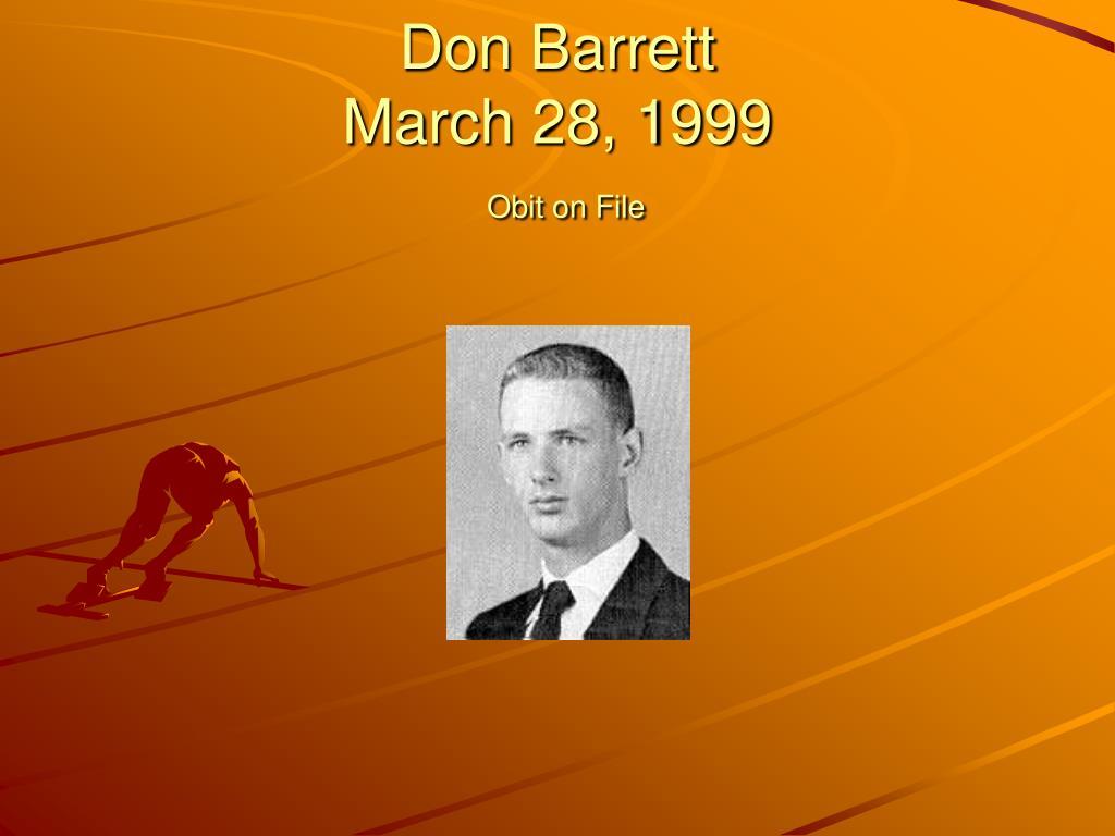Don Barrett