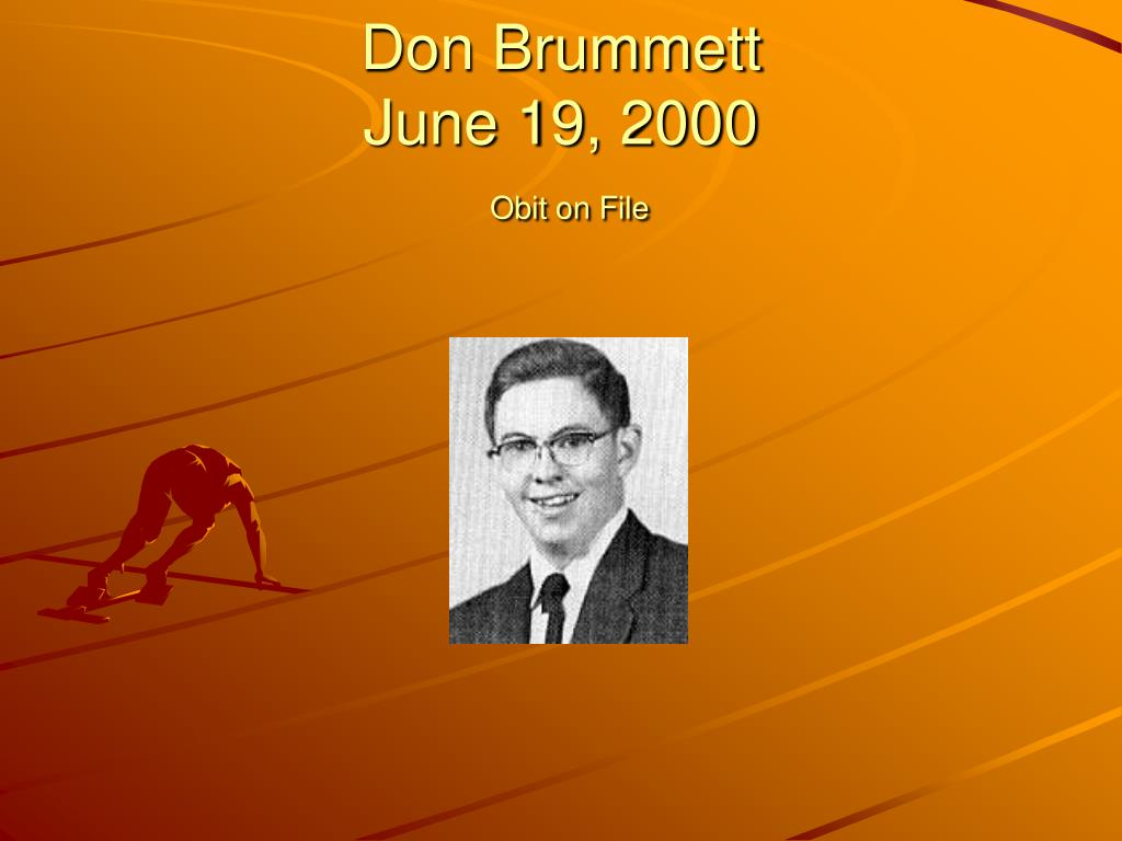 Don Brummett