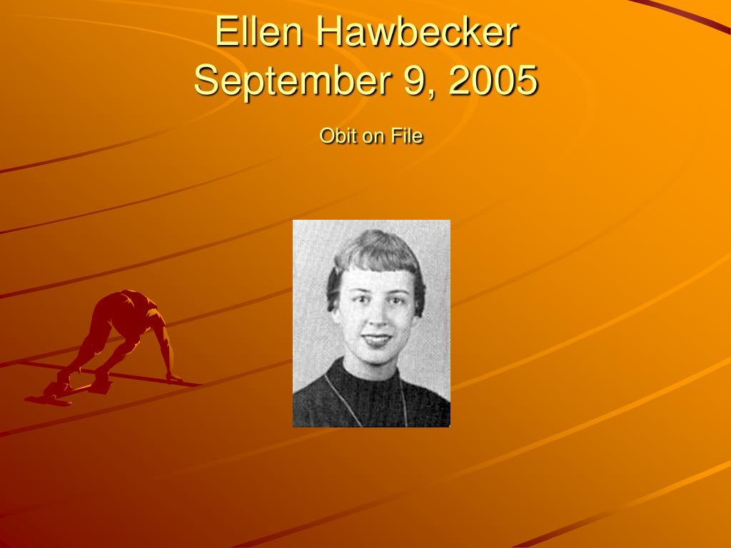 Ellen Hawbecker