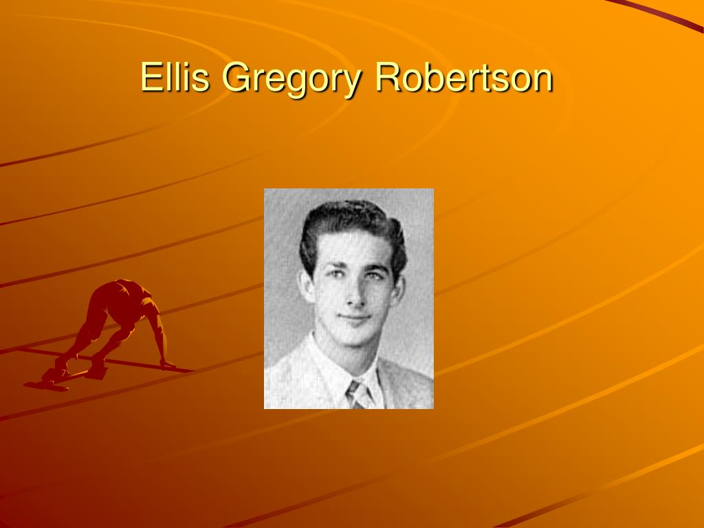 Ellis Gregory Robertson