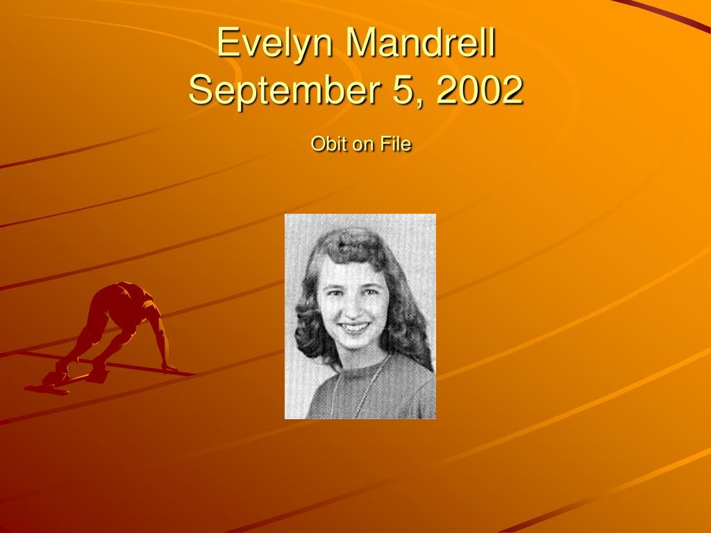 Evelyn Mandrell