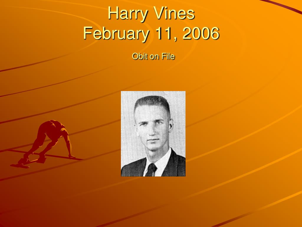 Harry Vines
