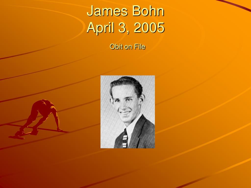 James Bohn