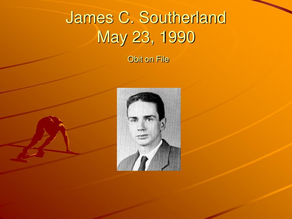 James C. Southerland