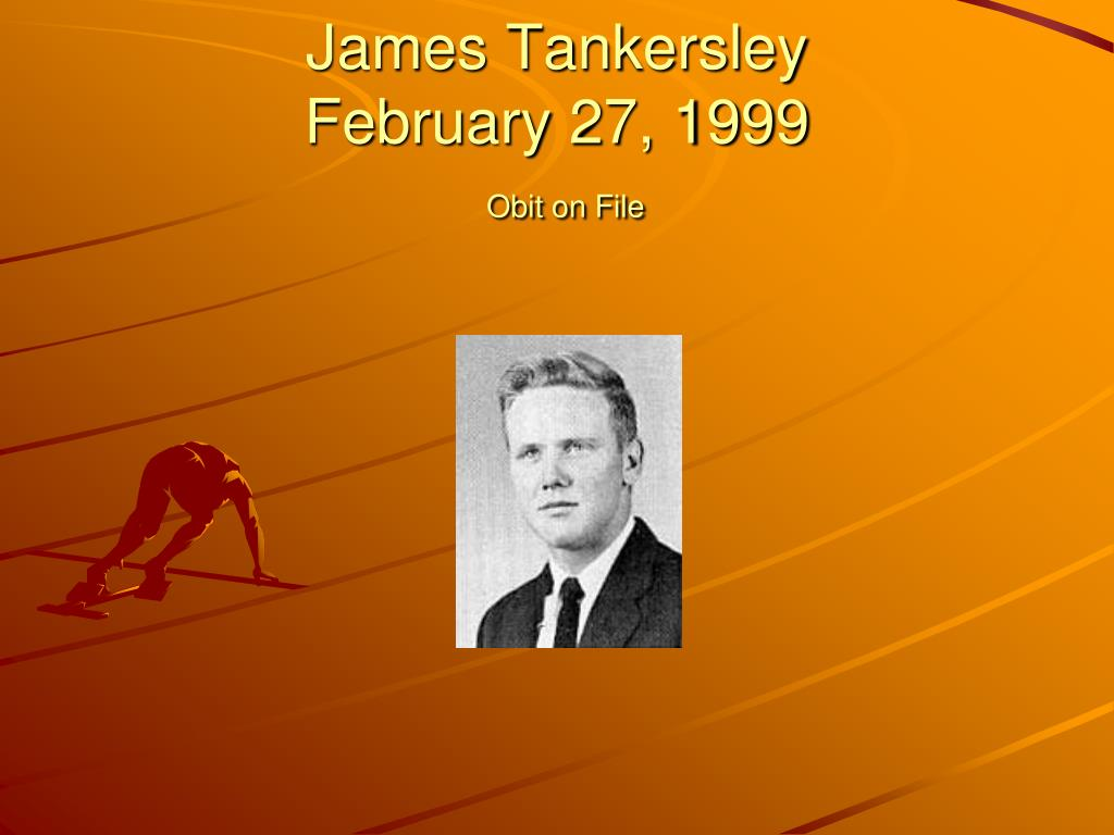 James Tankersley