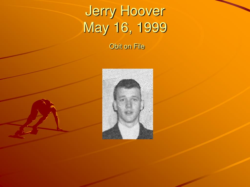 Jerry Hoover