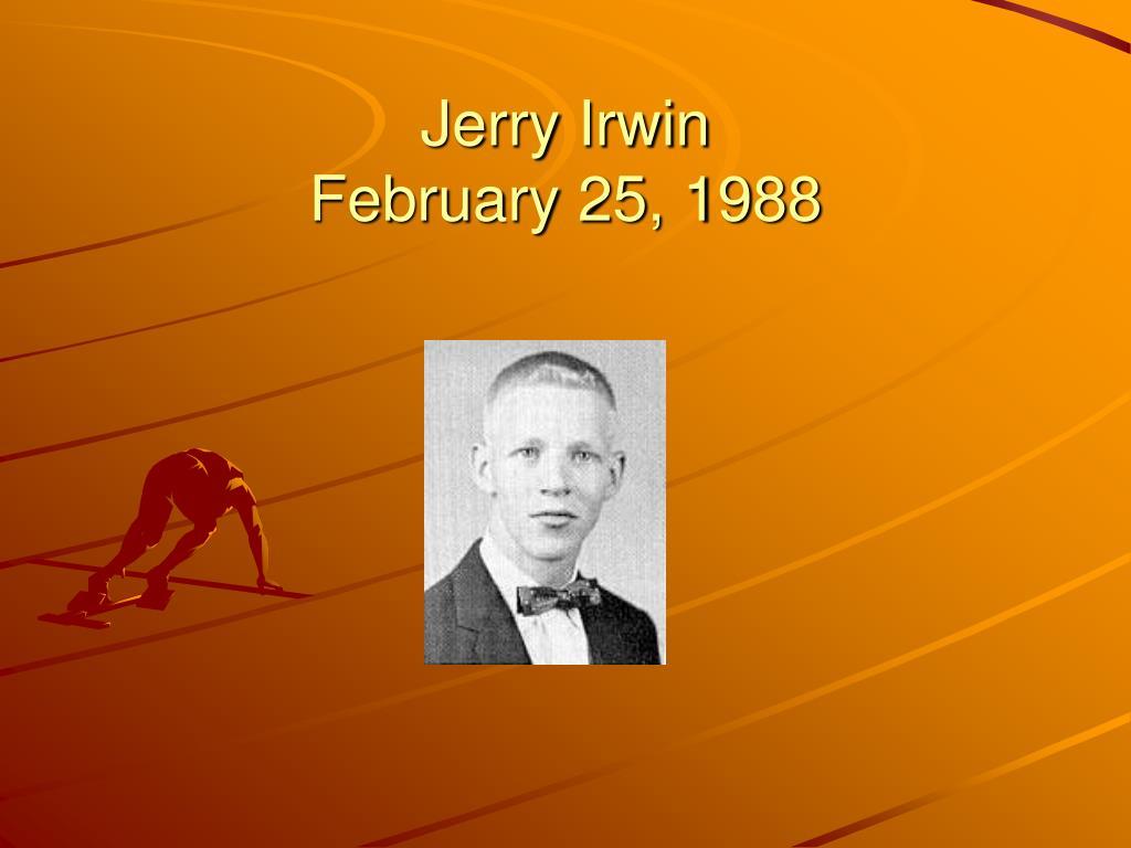 Jerry Irwin