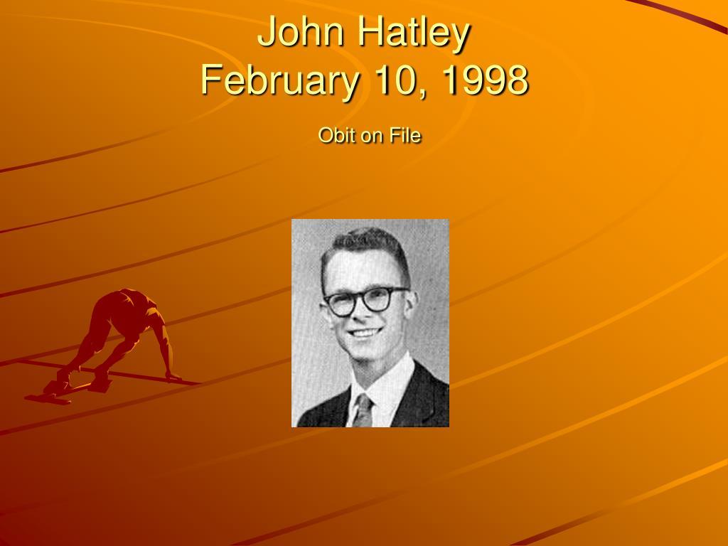 John Hatley