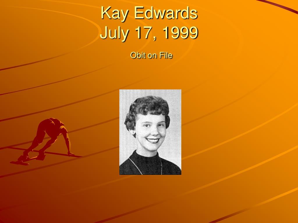 Kay Edwards