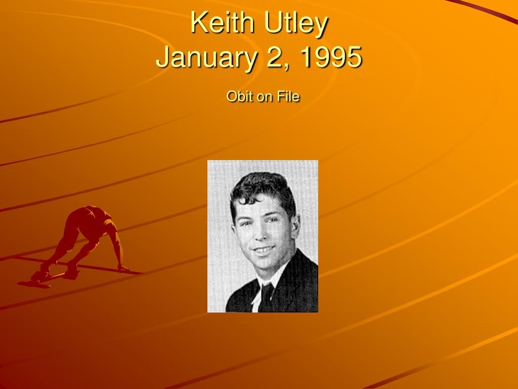 Keith Utley