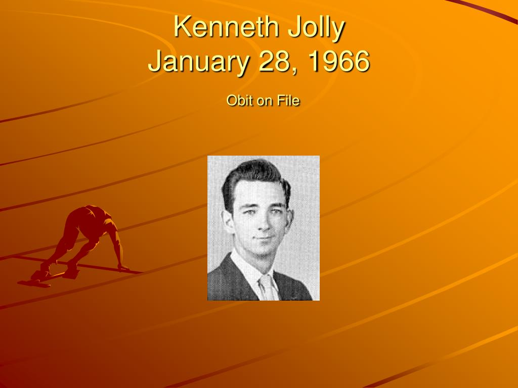 Kenneth Jolly