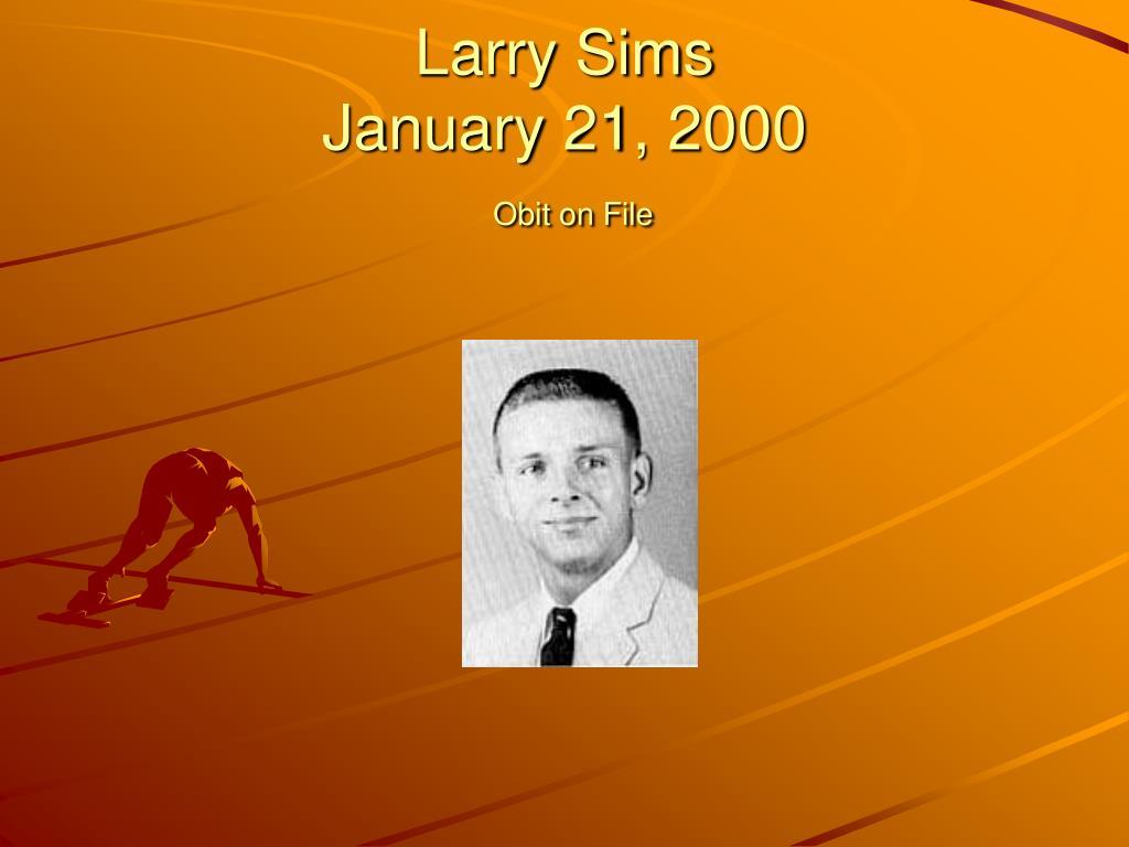 Larry Sims