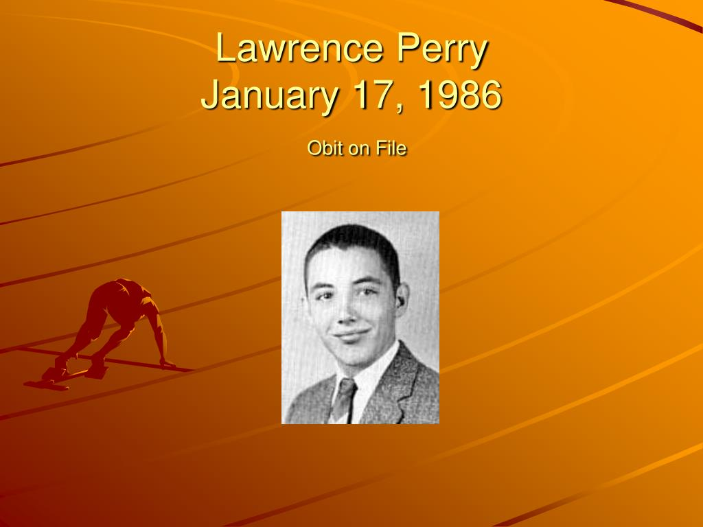 Lawrence Perry
