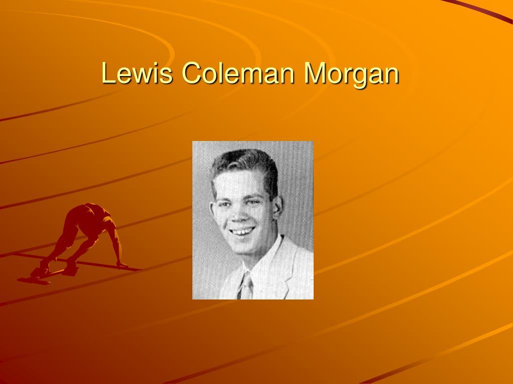 Lewis Coleman Morgan