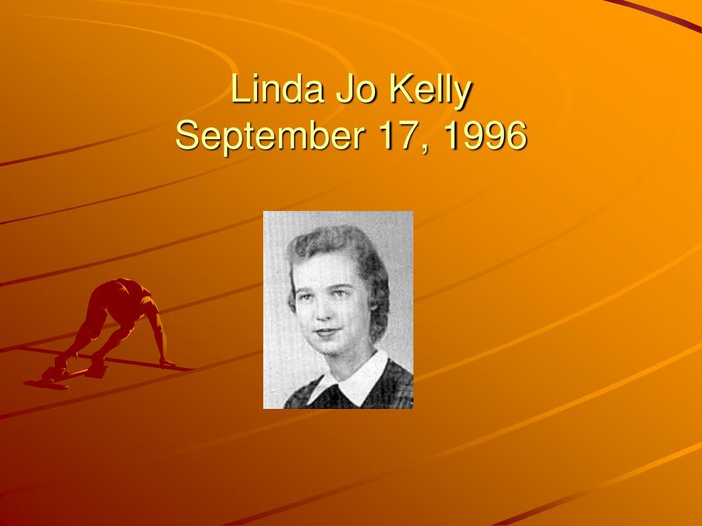 Linda Jo Kelly