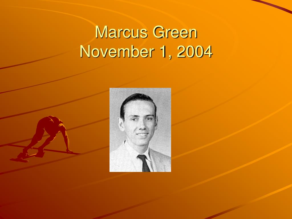 Marcus Green