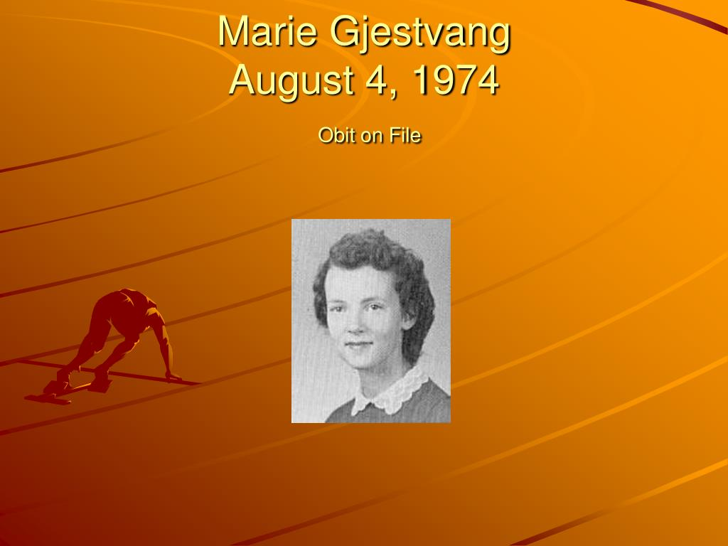Marie Gjestvang