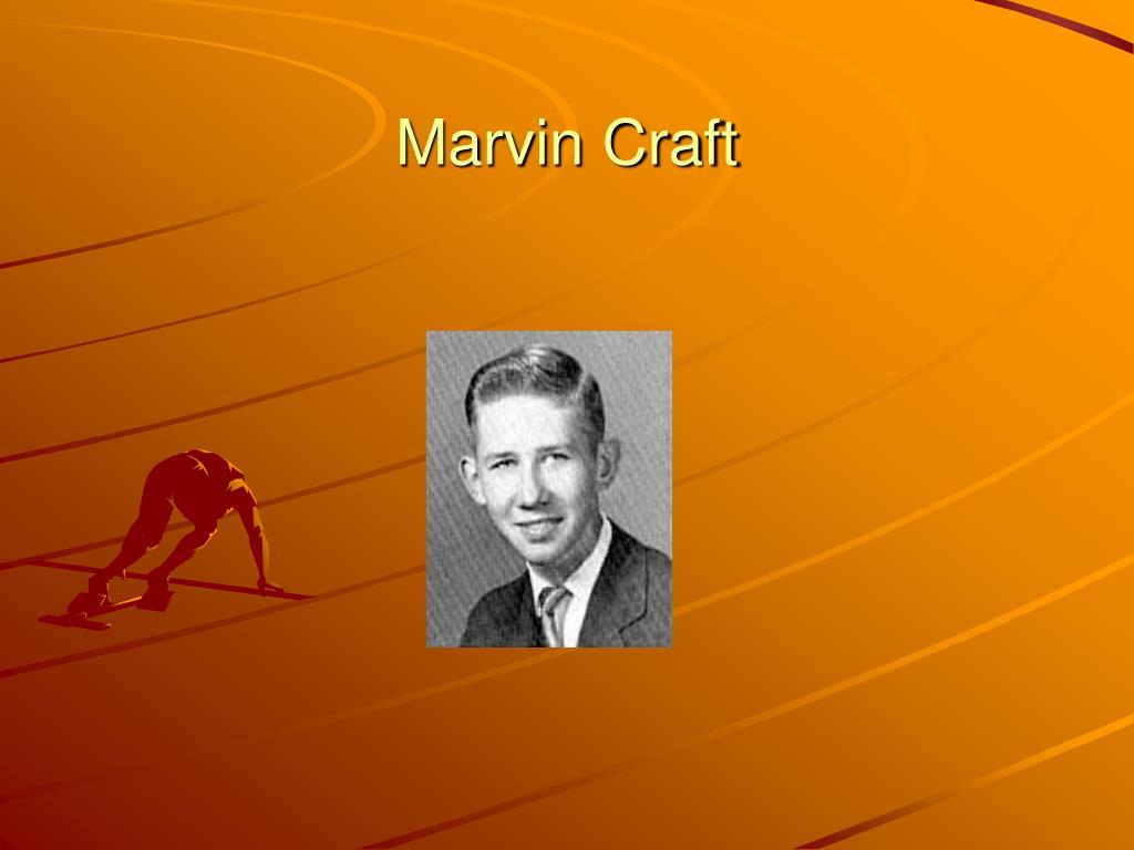 Marvin Craft