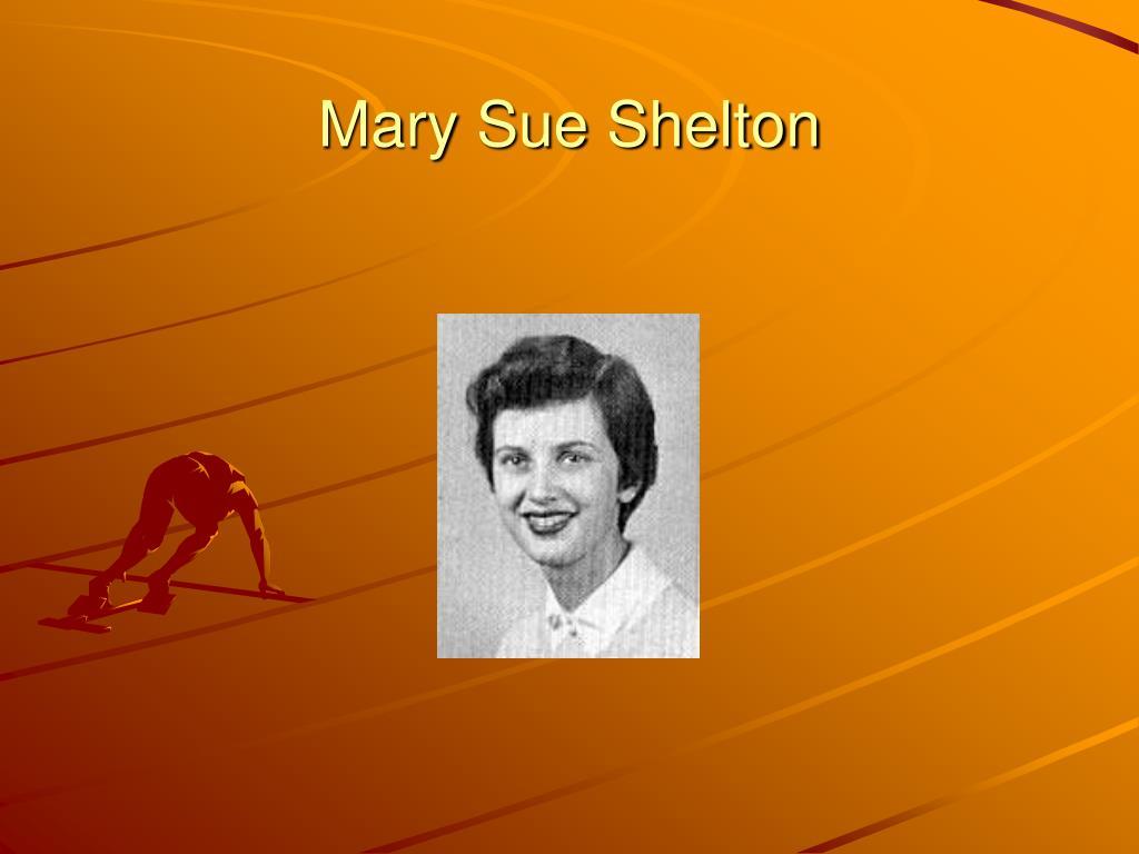 Mary Sue Shelton
