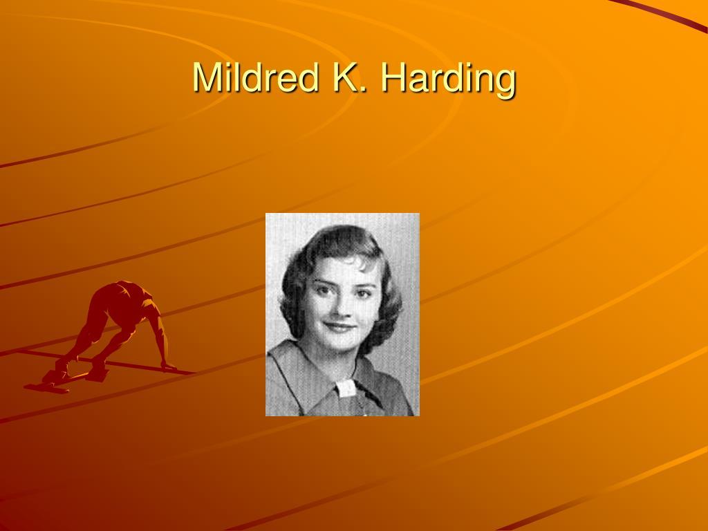 Mildred K. Harding