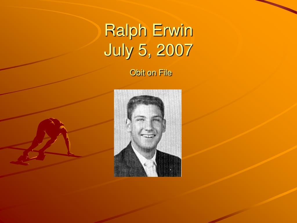Ralph Erwin