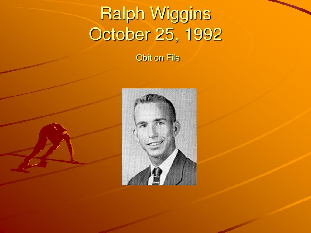 Ralph Wiggins