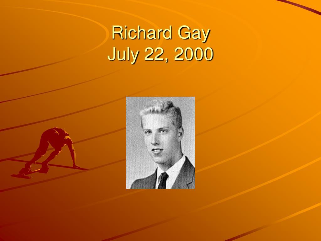 Richard Gay
