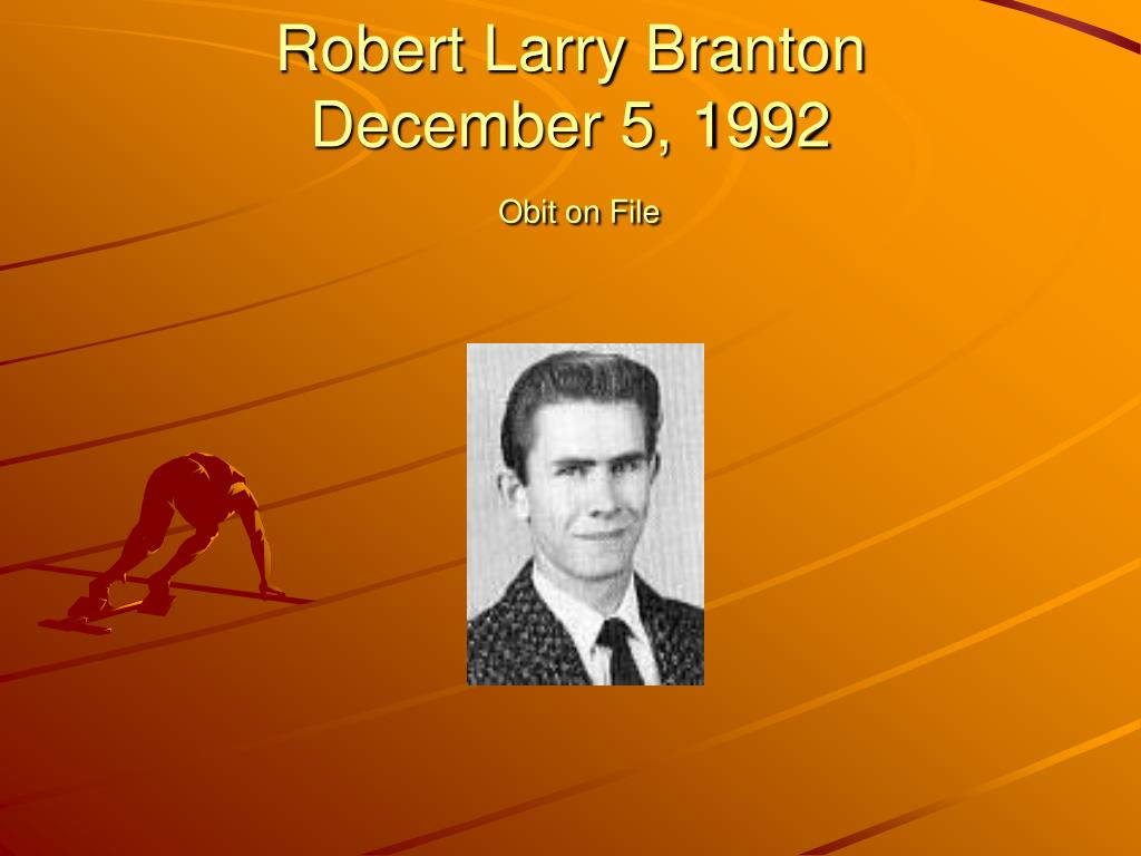 Robert Larry Branton