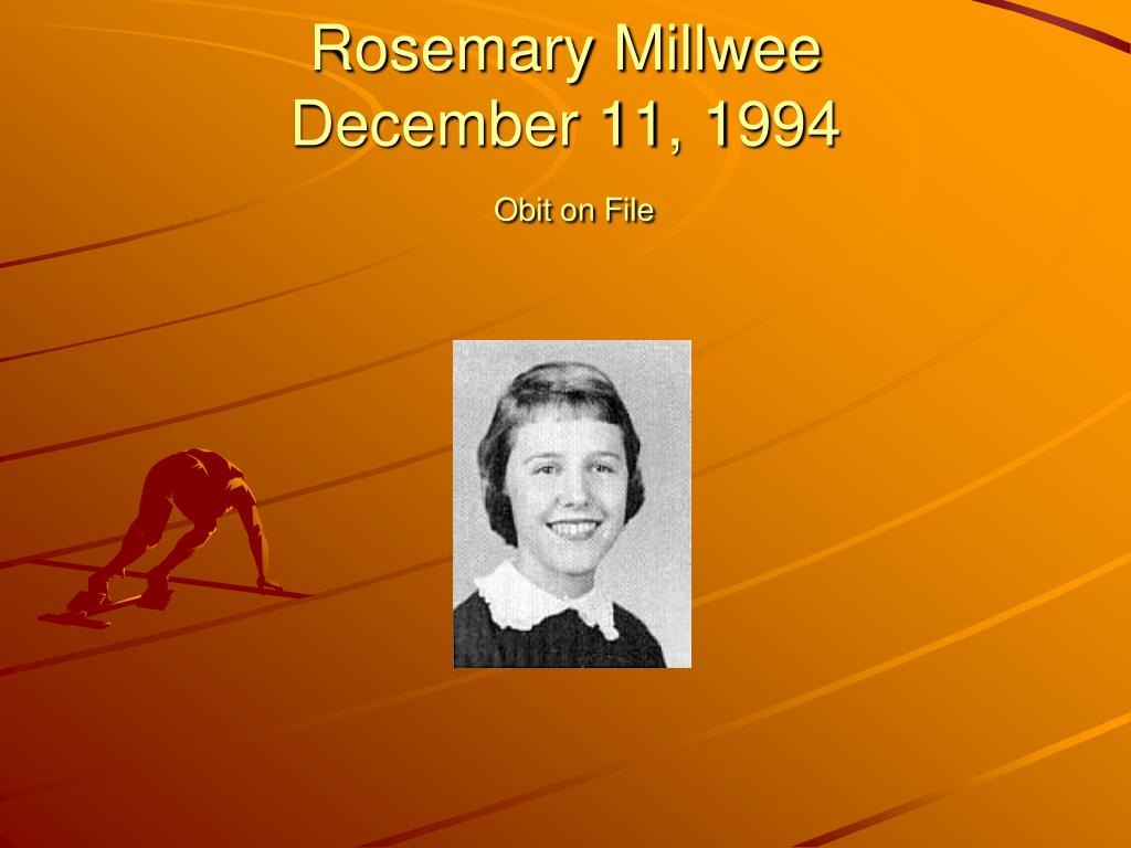 Rosemary Millwee