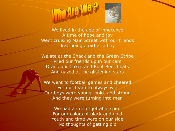 Who Are We ?