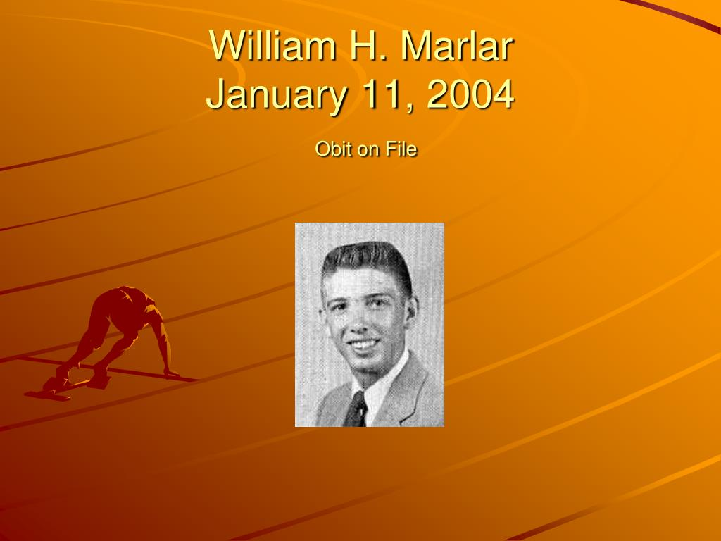William H. Marlar