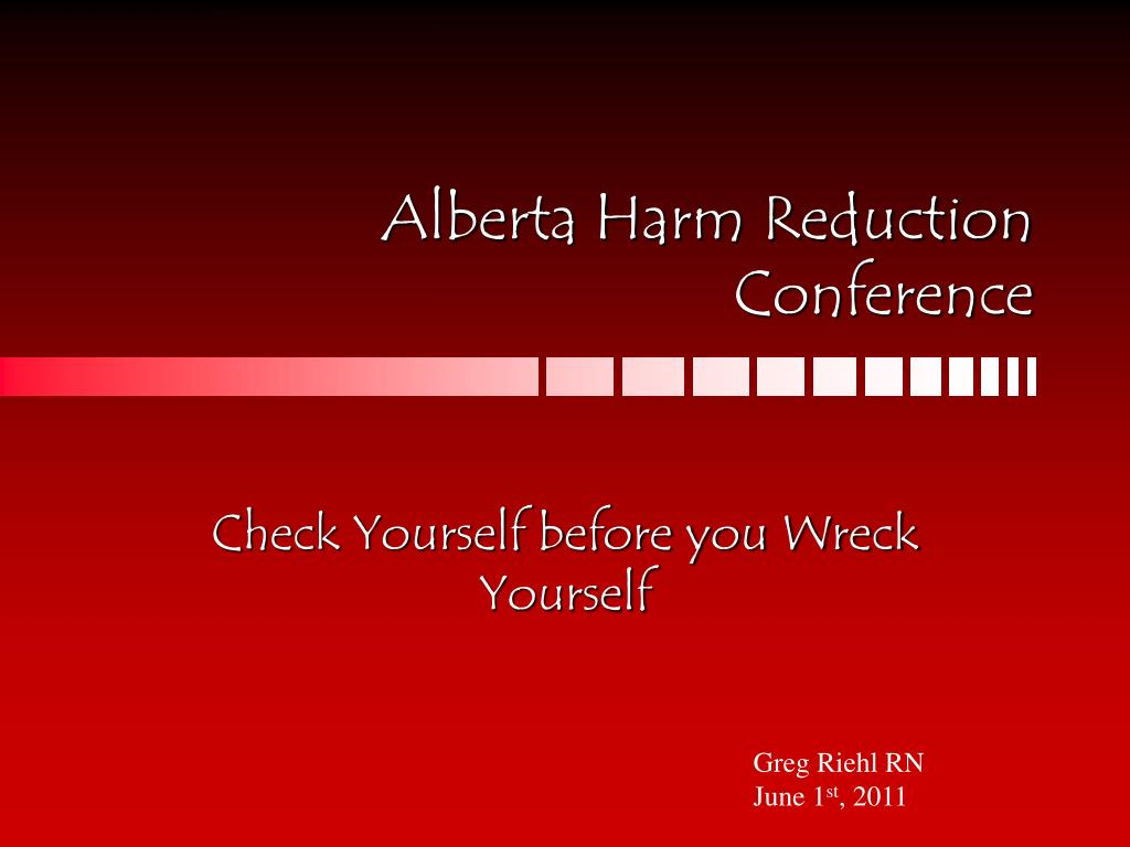 Alberta Harm Reduction Conference