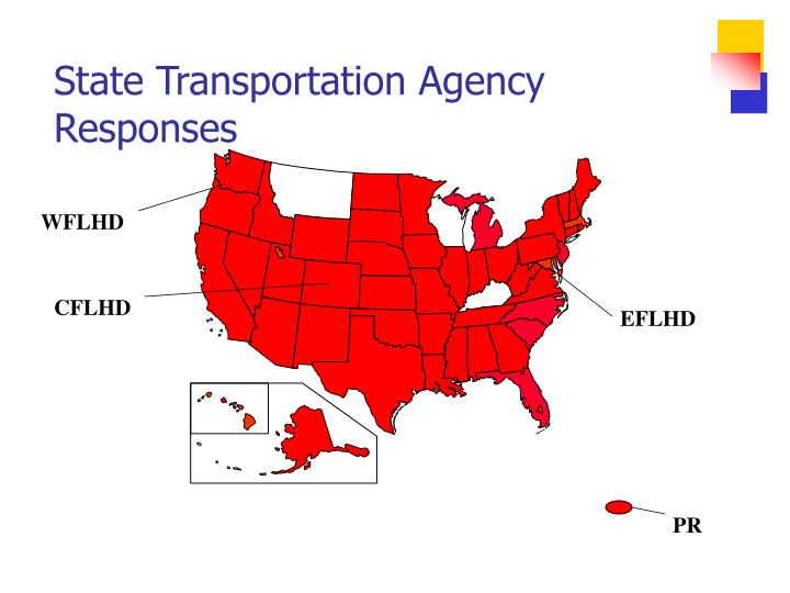 State transportation agency responses