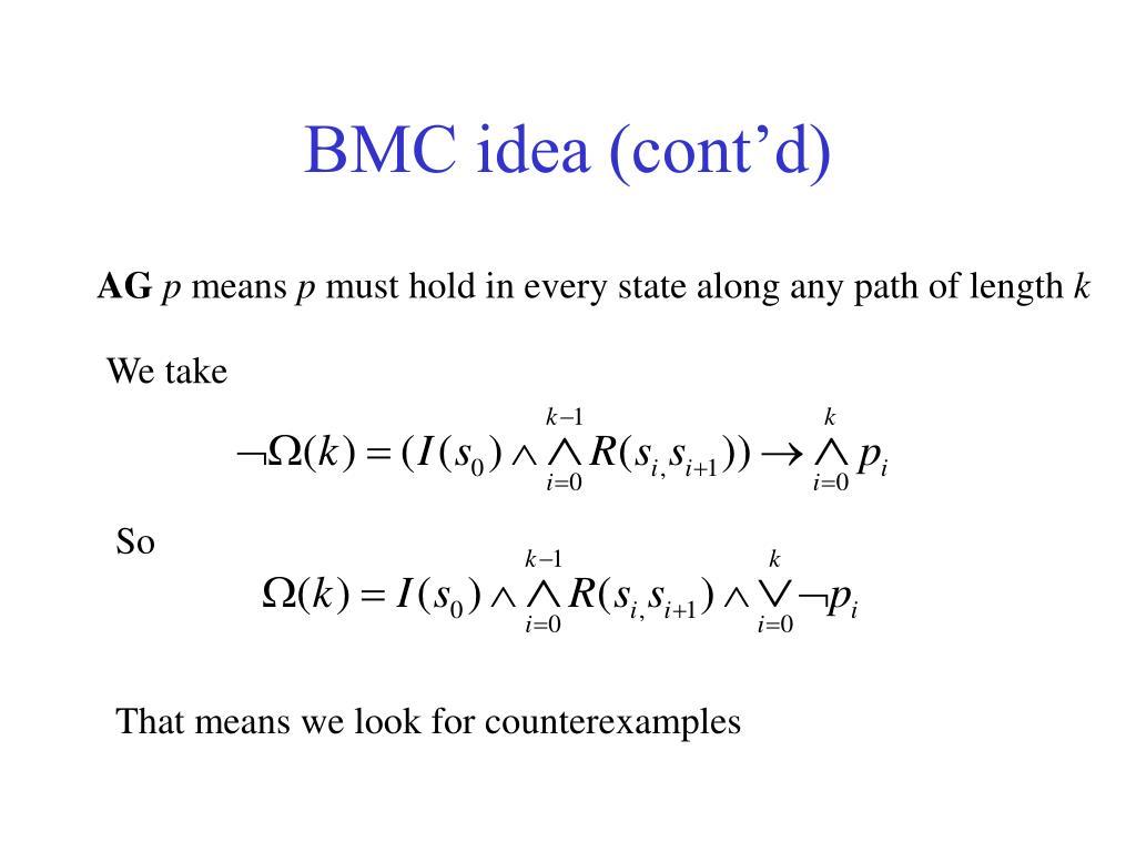 BMC idea (cont'd)