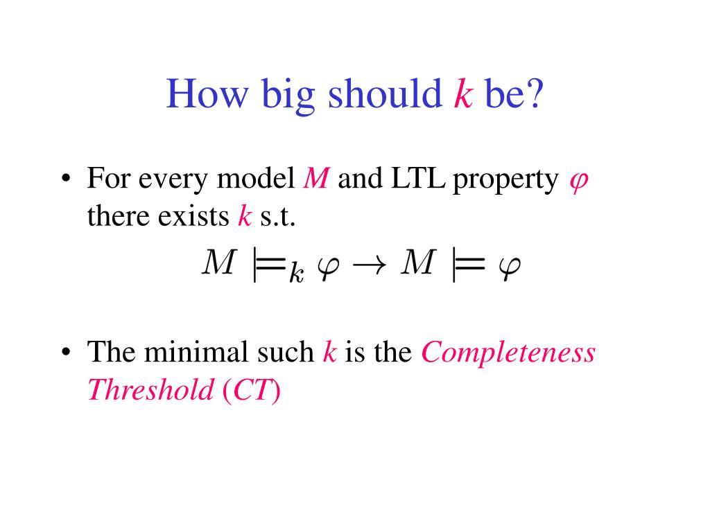 How big should