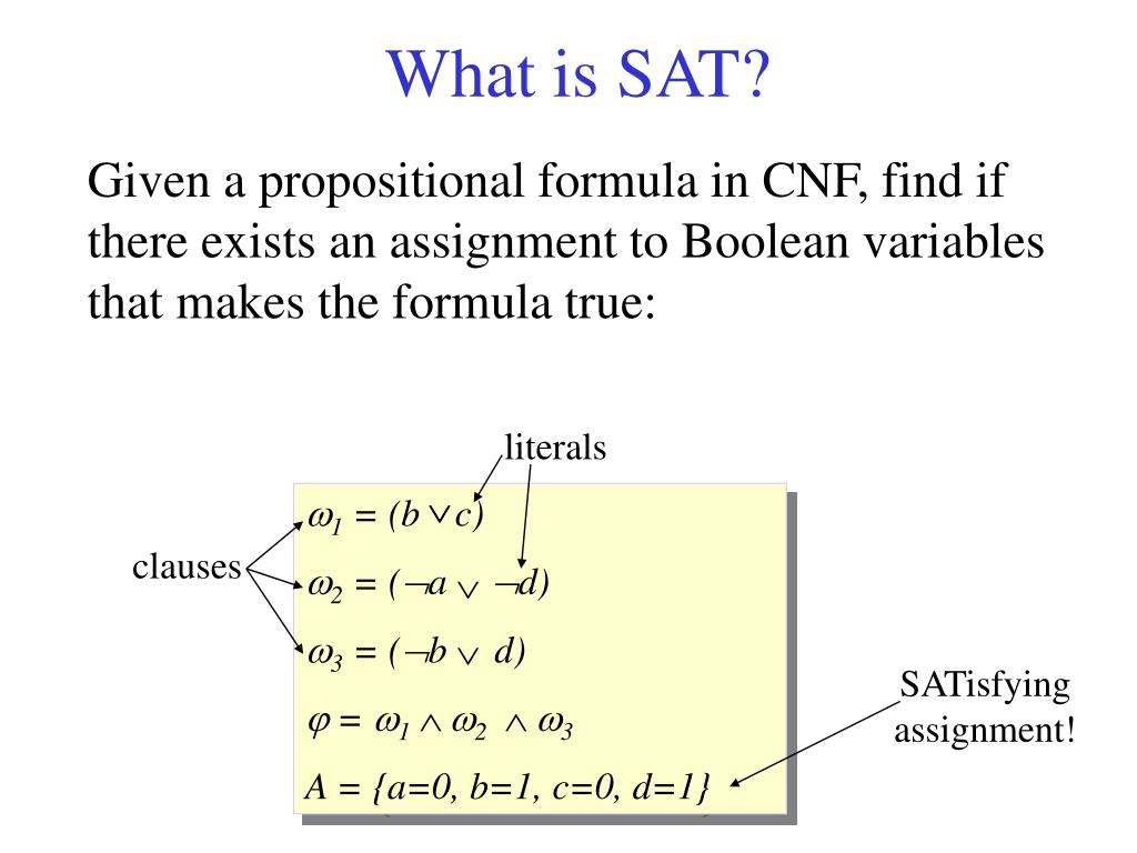 What is SAT?