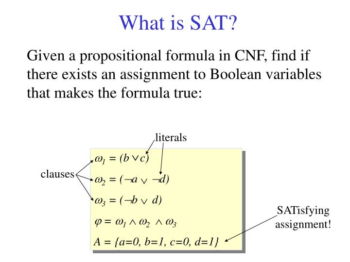 What is sat
