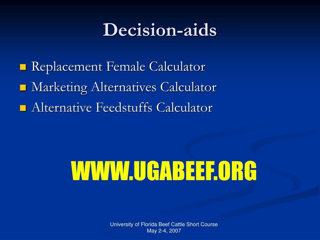Decision-aids