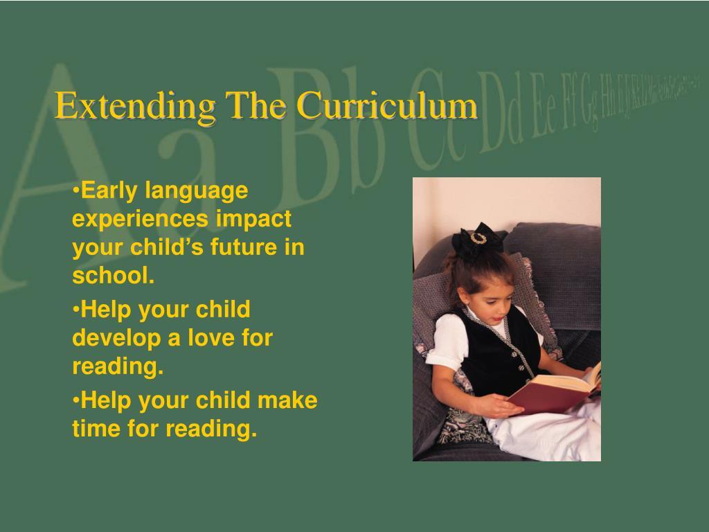 Extending The Curriculum