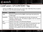 coldfusion cfcontent tag