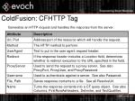 coldfusion cfhttp tag