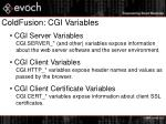 coldfusion cgi variables