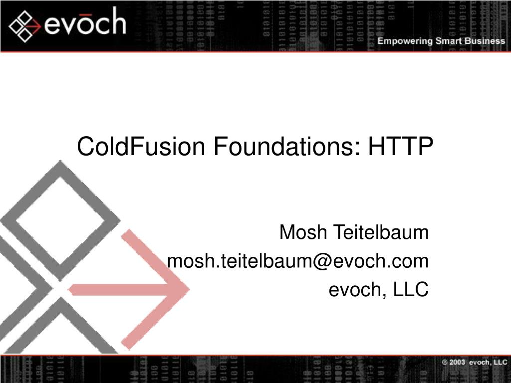 coldfusion foundations http l.