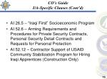 co s guide i a specific clauses cont d16