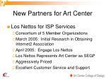 new partners for art center14
