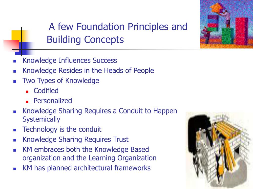 A few Foundation Principles and
