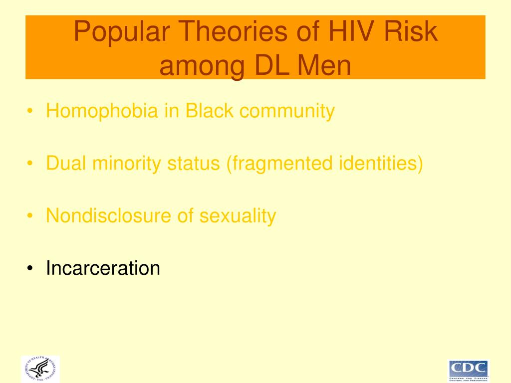 Popular Theories of HIV Risk among DL Men