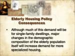elderly housing policy consequences25
