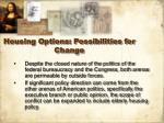 housing options possibilities for change32